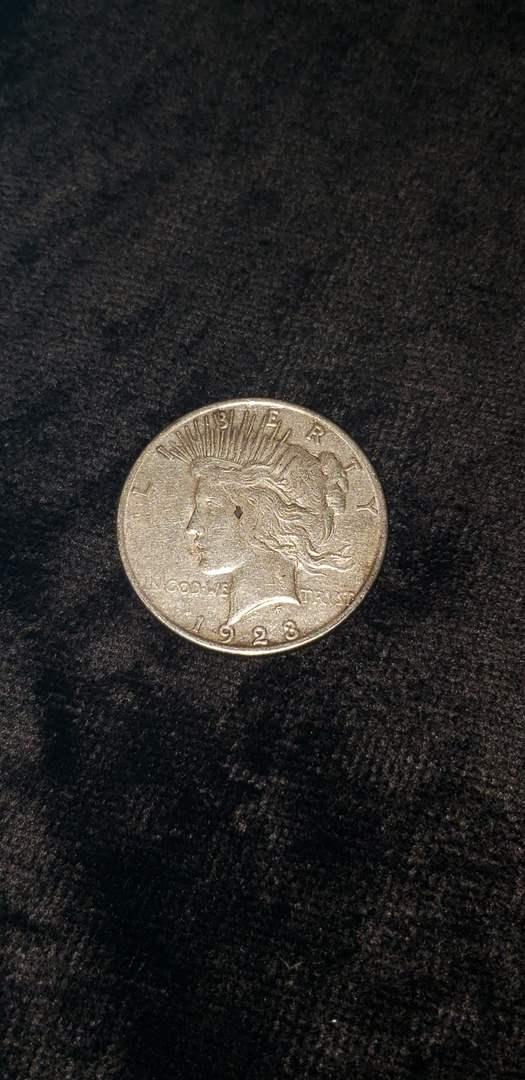 Lot # 468 1923 Silver Peace Dollar