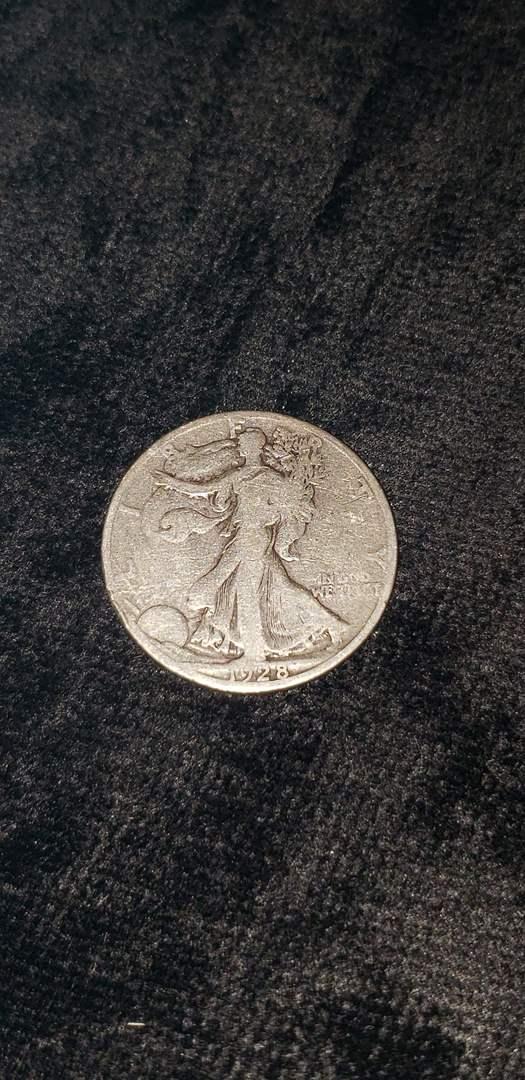 Lot # 471 1928-S Walking Liberty Silver Half Dollar
