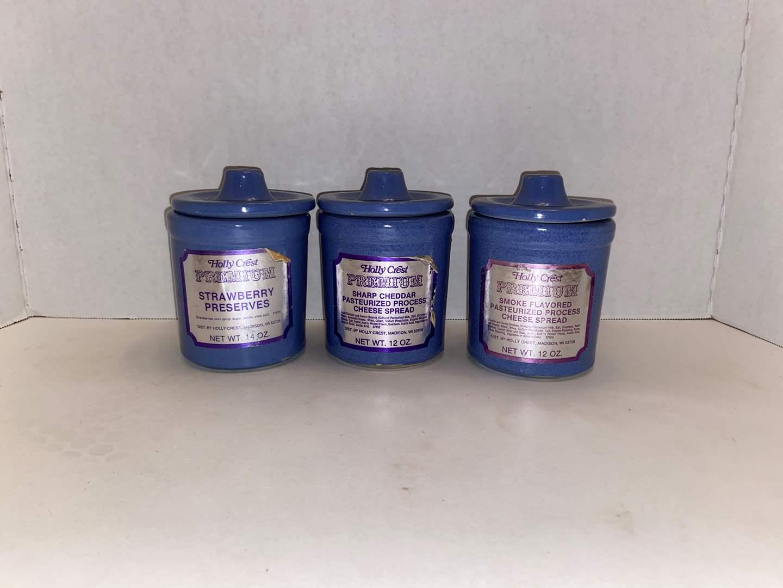 Lot # 502 (3) Ceramic Jars