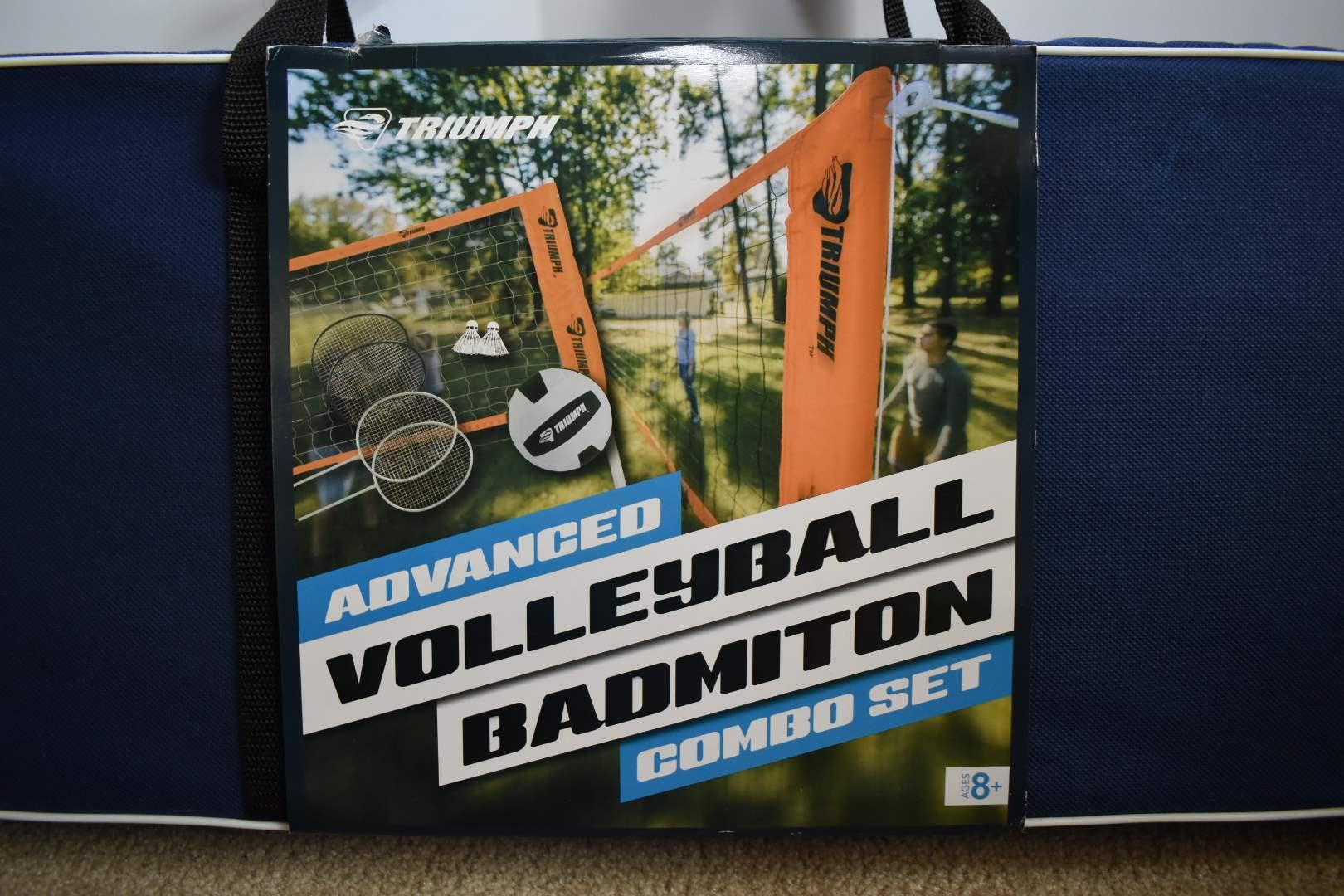 NEW Badminton/ Volleyball Set