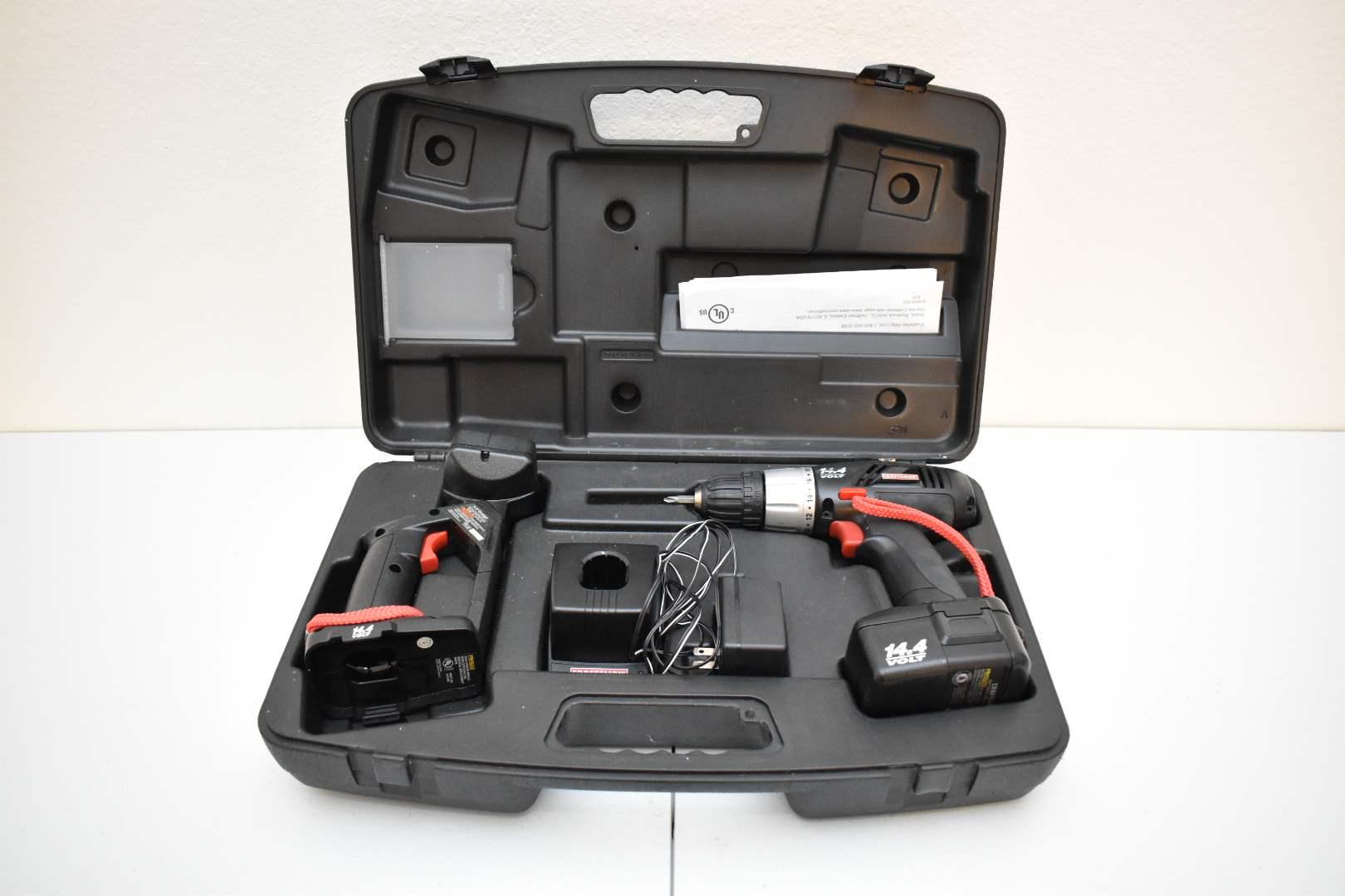 Craftsman 14V Drill in Case