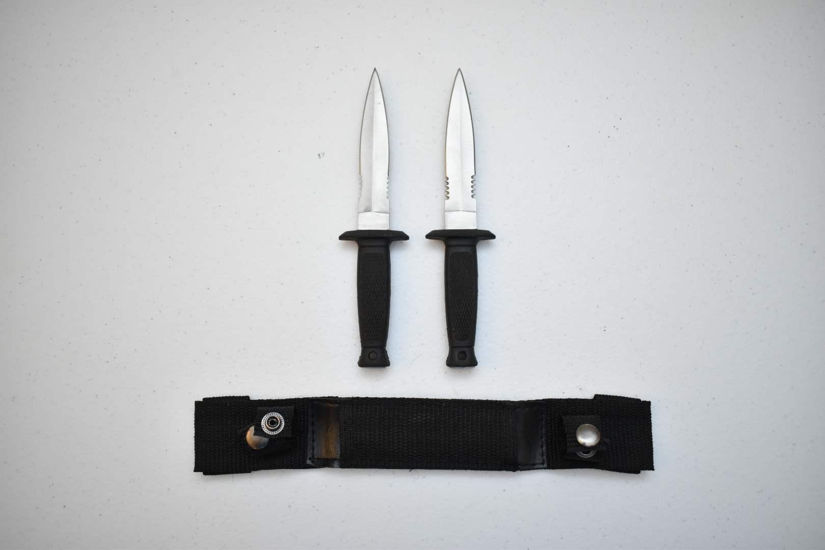 Throwing Daggers with Sheath