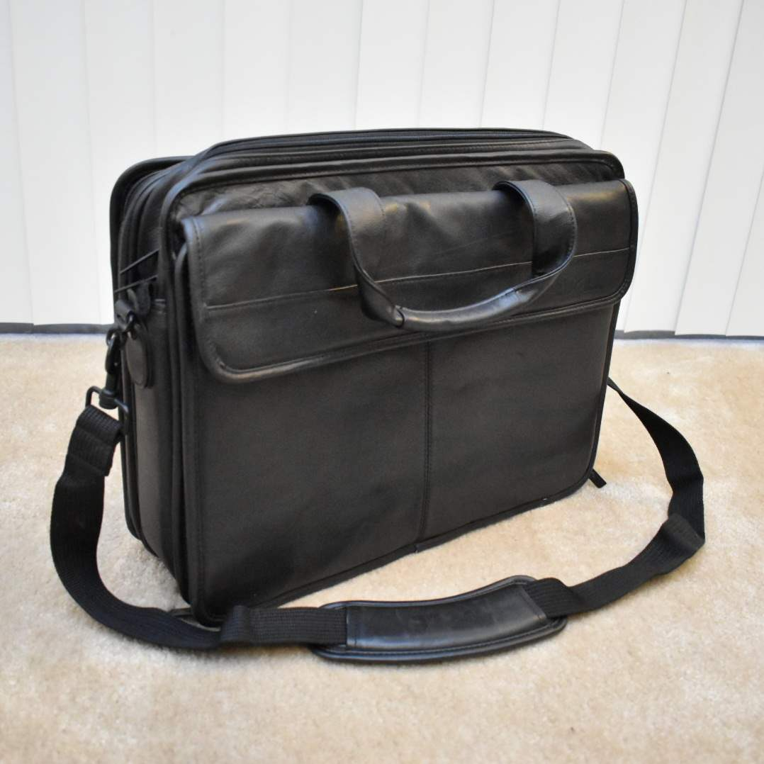 Dell Leather Laptop