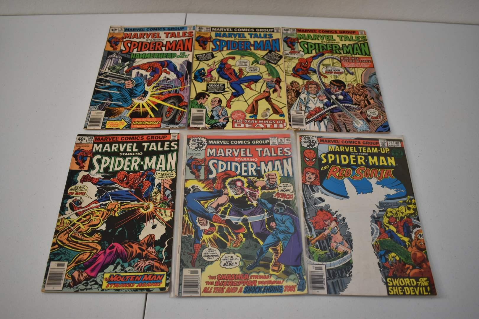 1970's Spiderman Comics