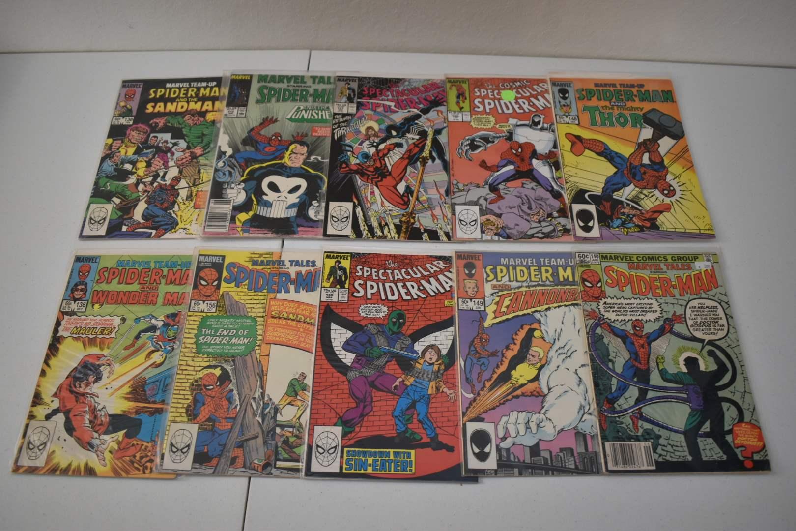 1980's Spiderman Comics