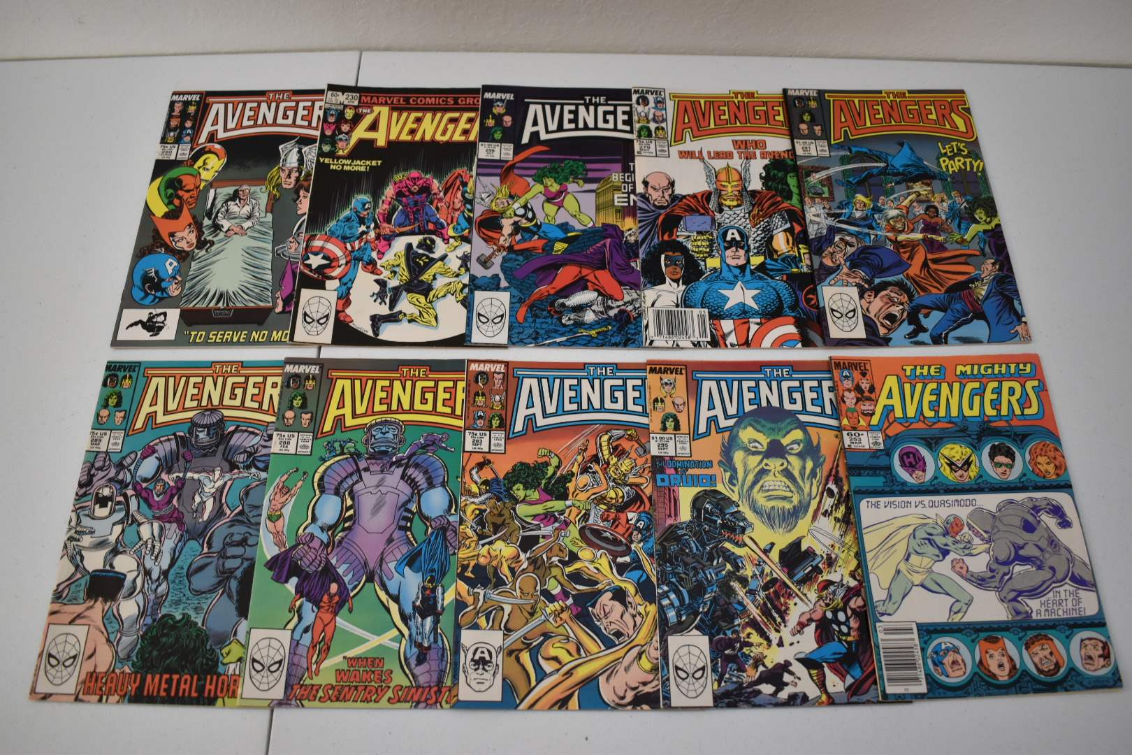 1980's Avengers Comics