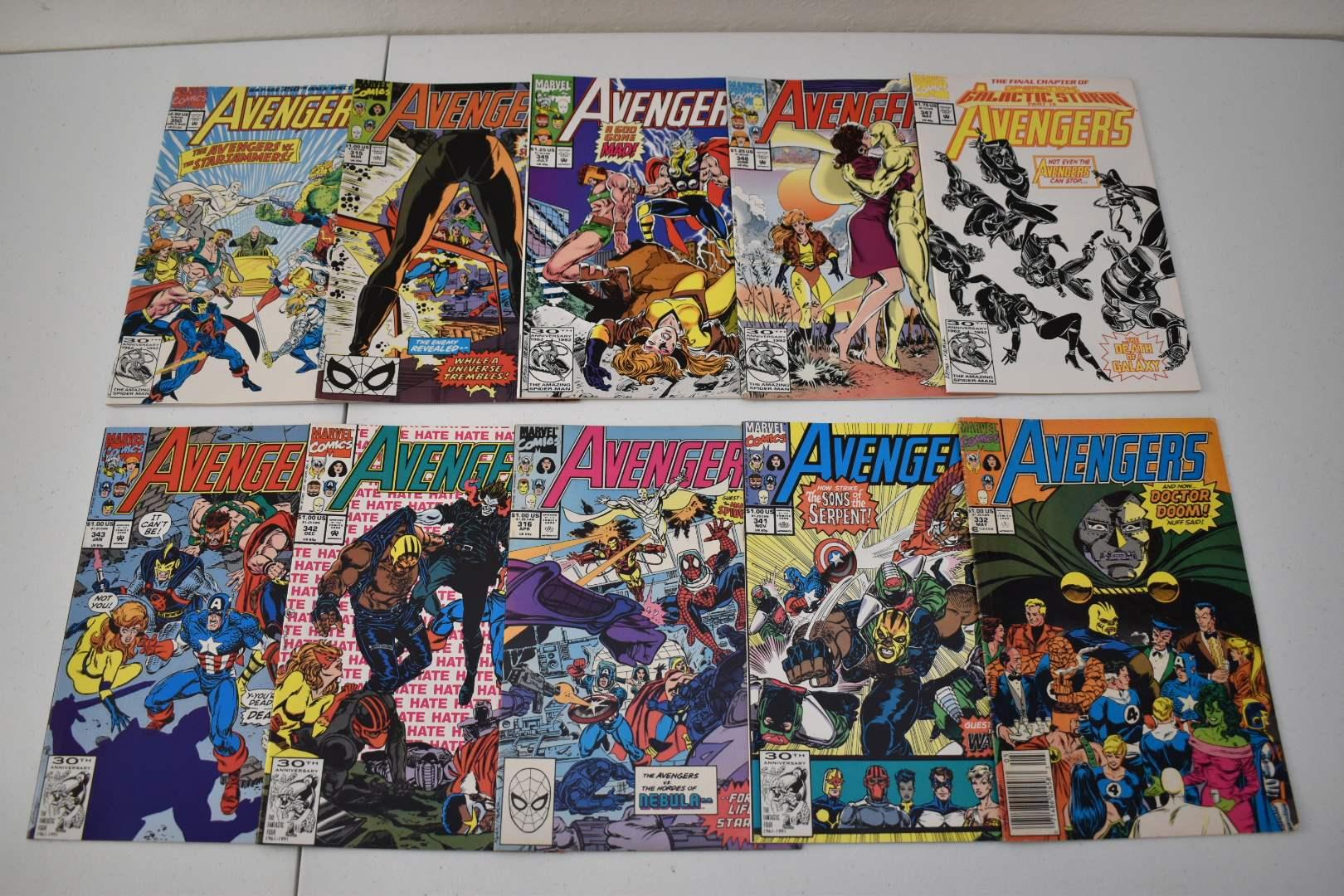 1990's Avengers Comics