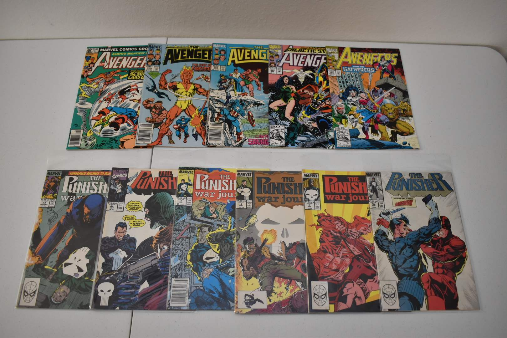 1990's Punisher and Avengers
