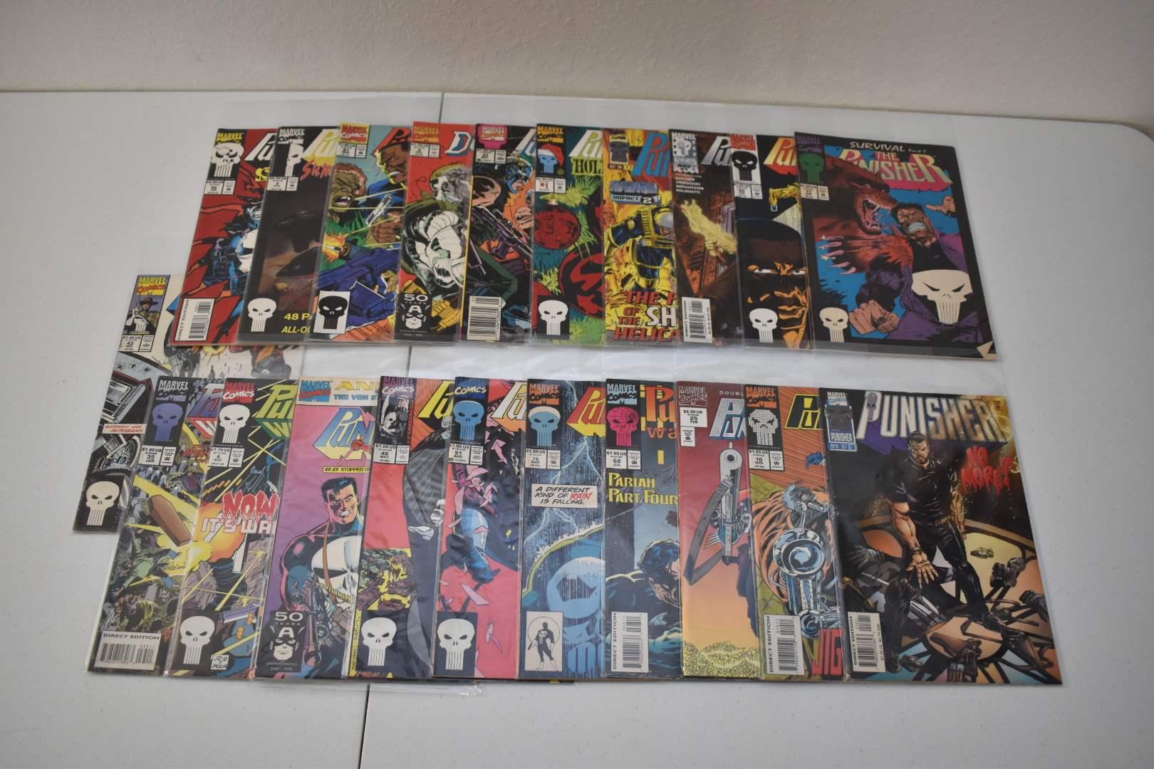 1990's Punisher Comics