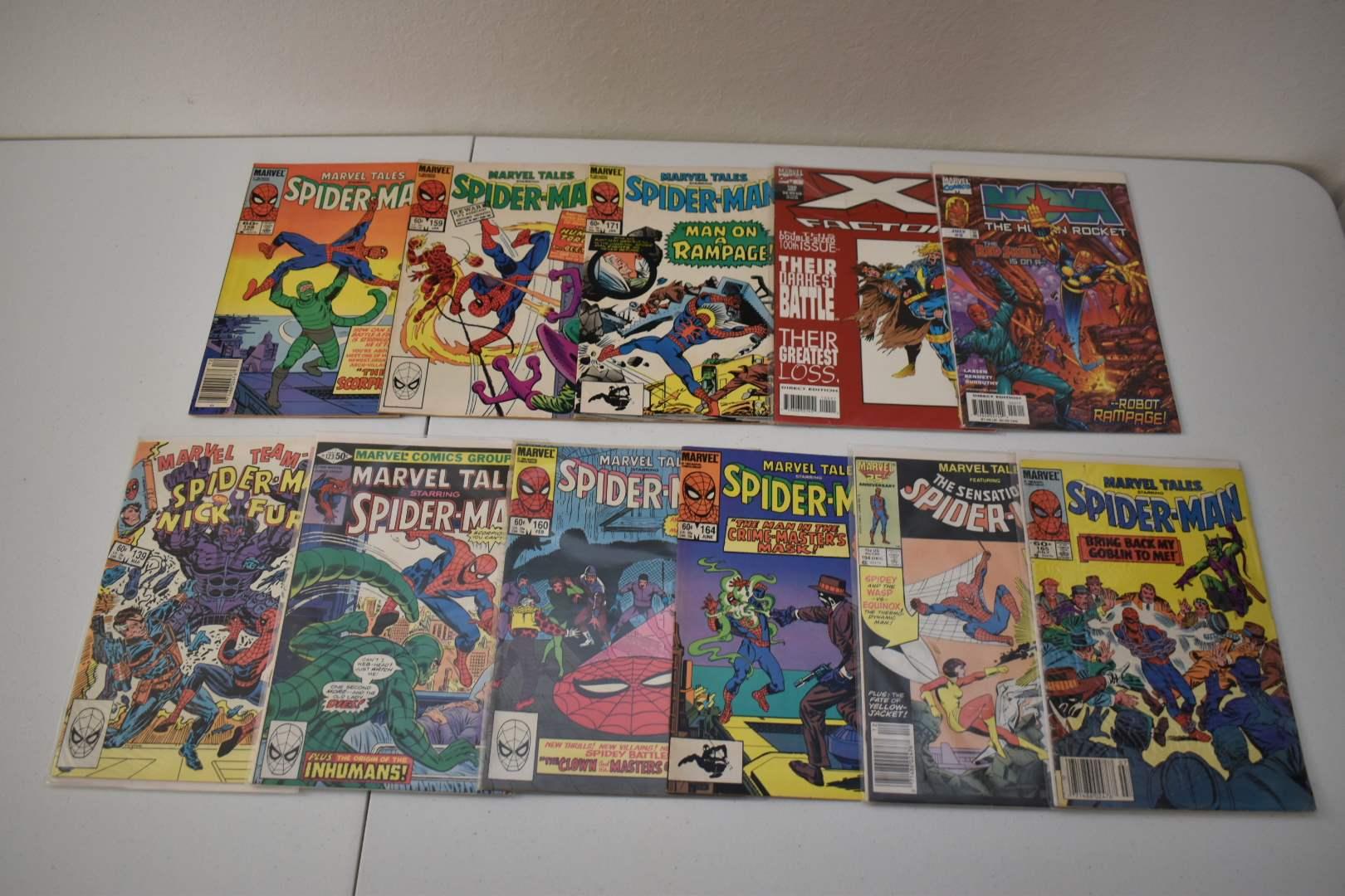 1980's Spiderman & X-Men Comics