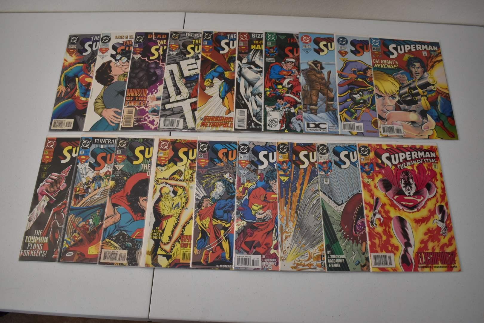 1990's Superman Comics