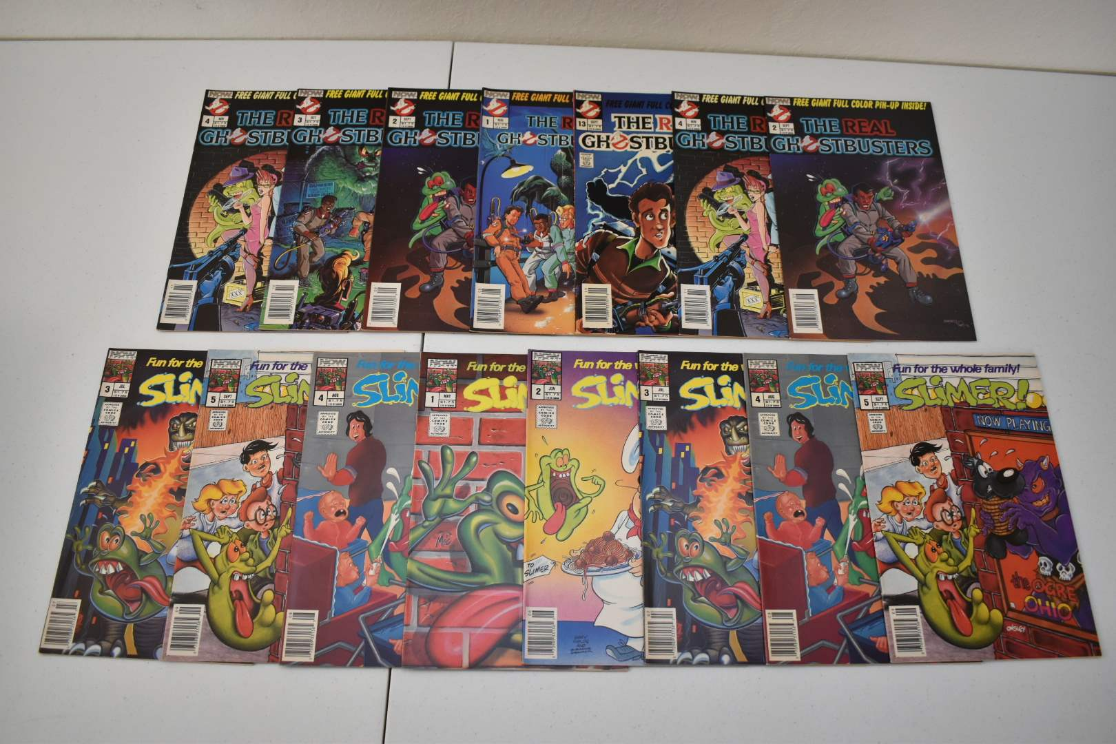 1980's Ghostbusters & Slimers Comics
