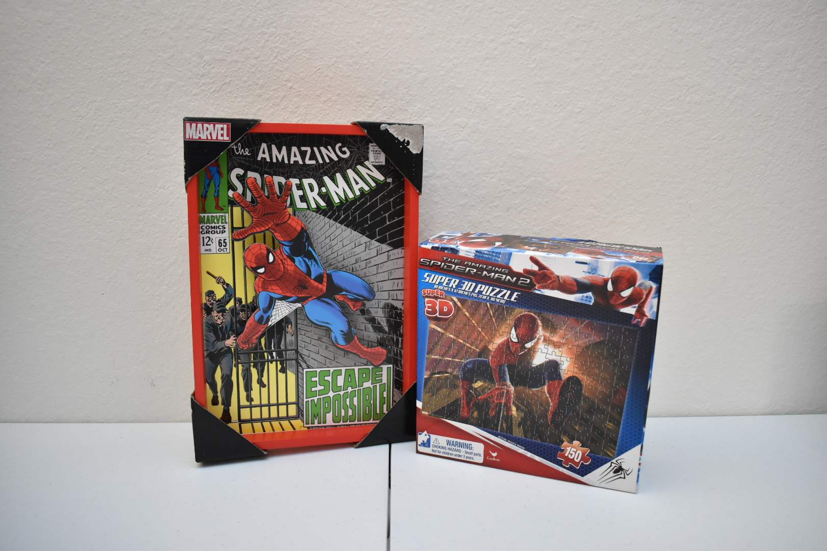 Spider-Man Picture and 3D Puzzle
