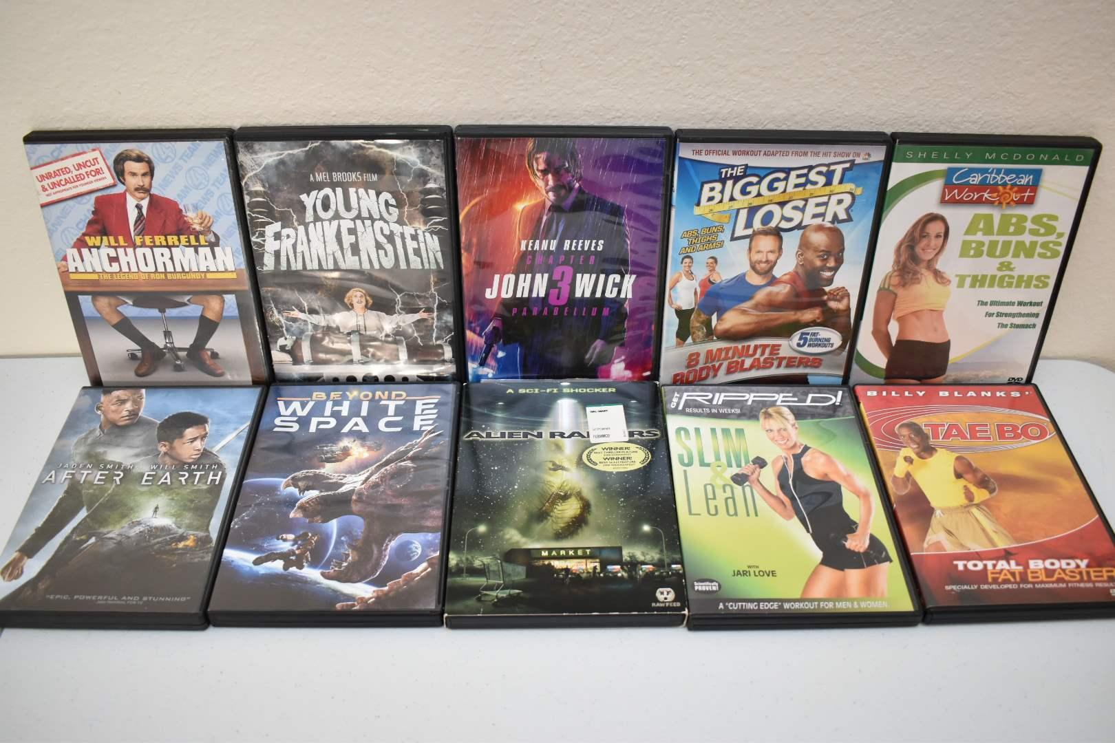 DVDs 12