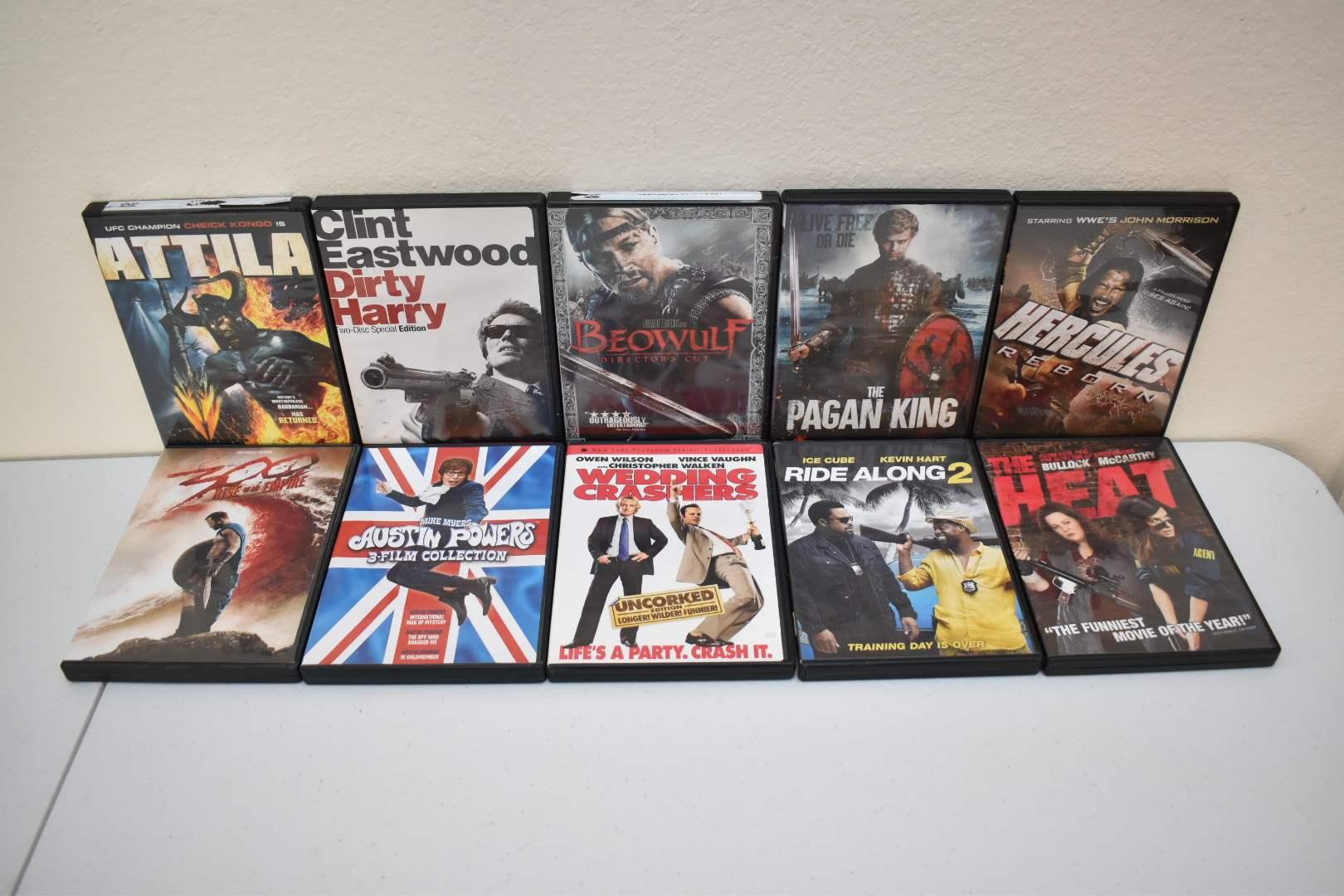 DVDs 16