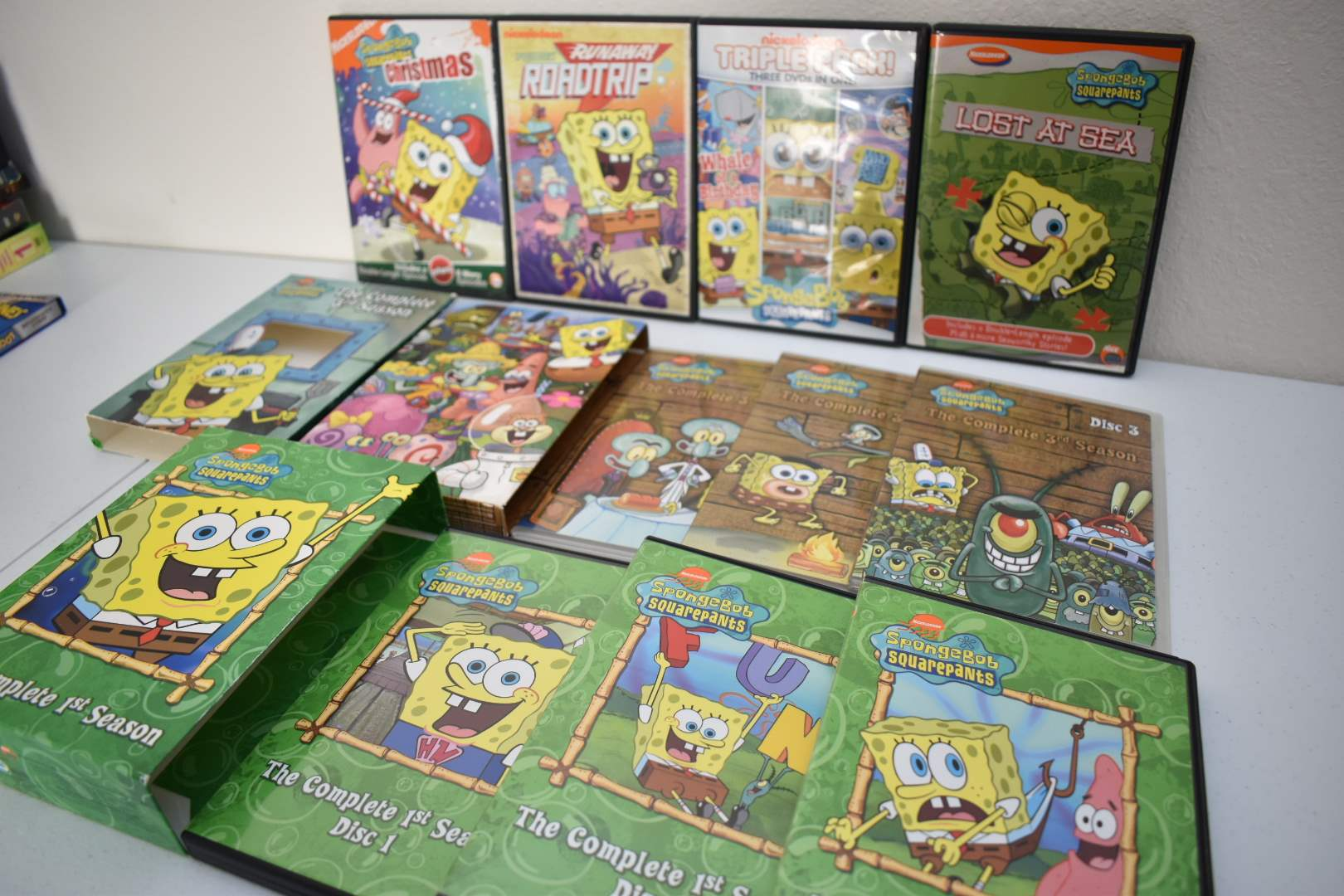 SpongeBob & Looney Toons Box Sets