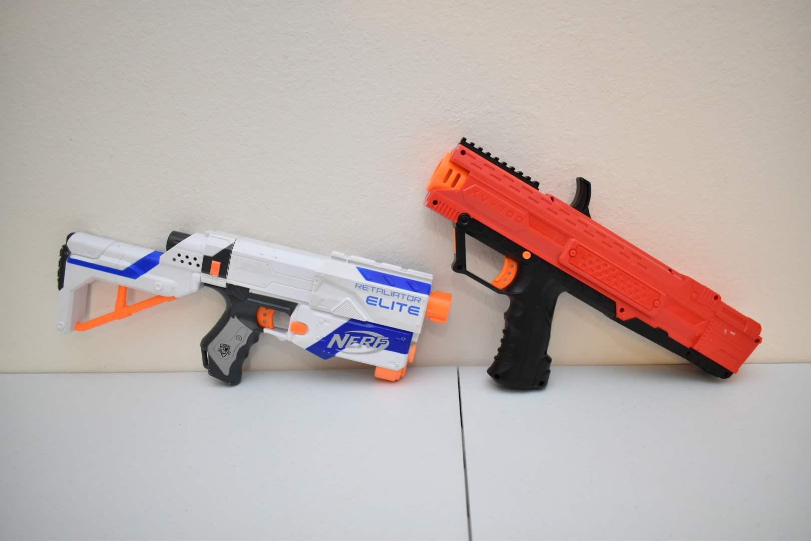 (2) Nerf Rifles