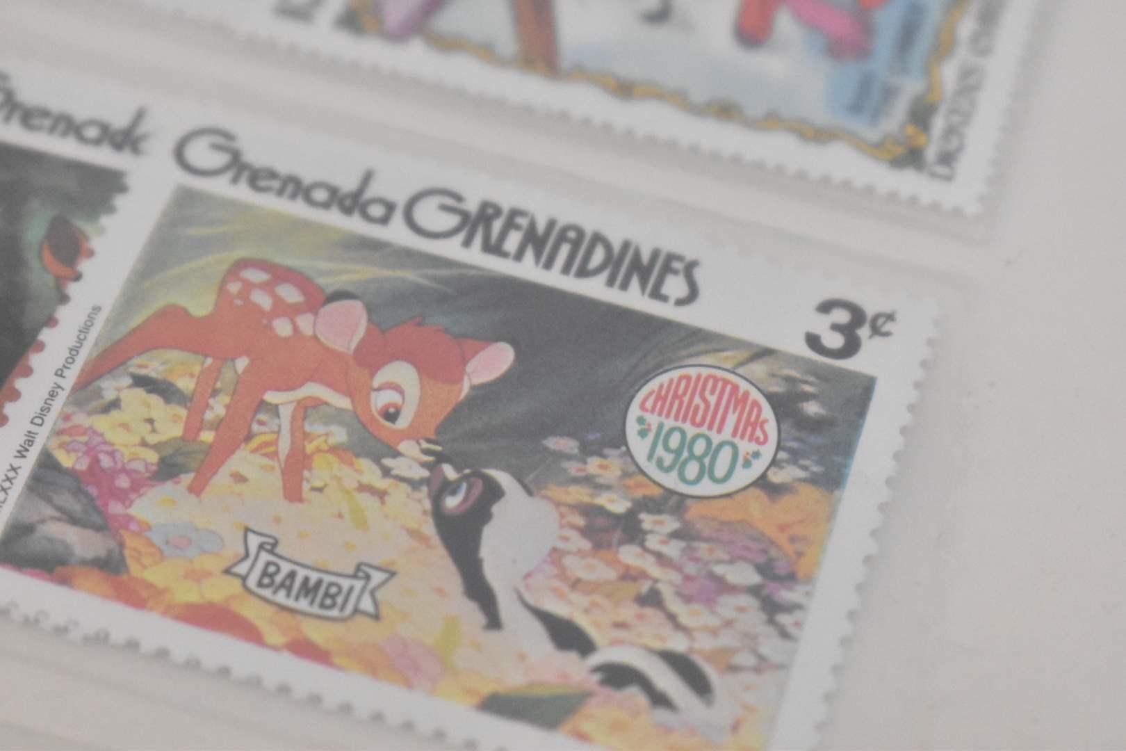 Vintage Disney Stamps