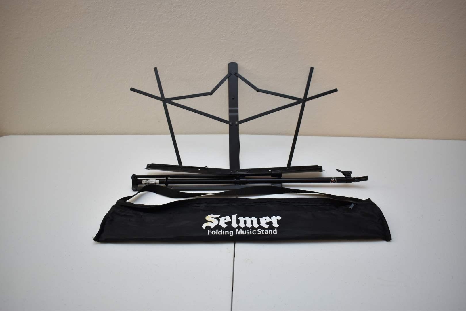 Selmer Folding Music Stand (black)