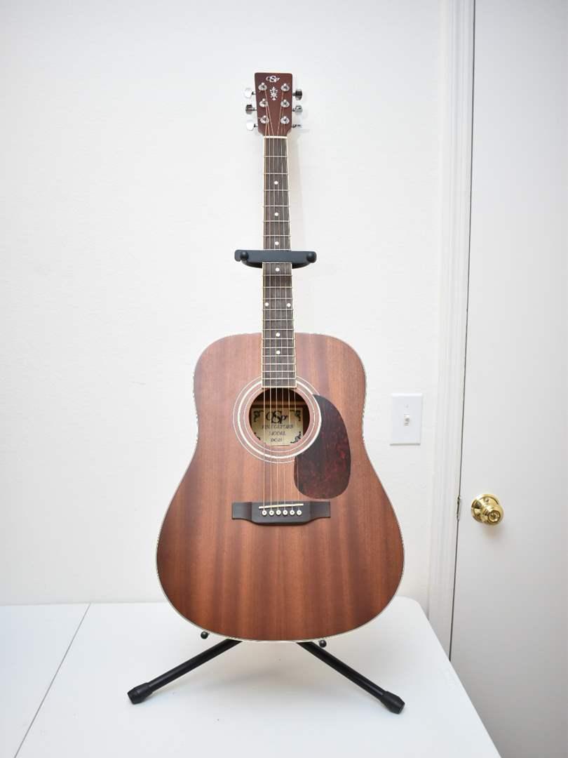 Acoustic Guitar with Gig Bag