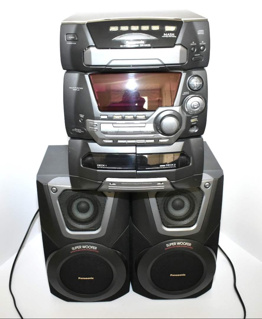 Panasonic 5-CD Changer/ Stereo SA-AK25