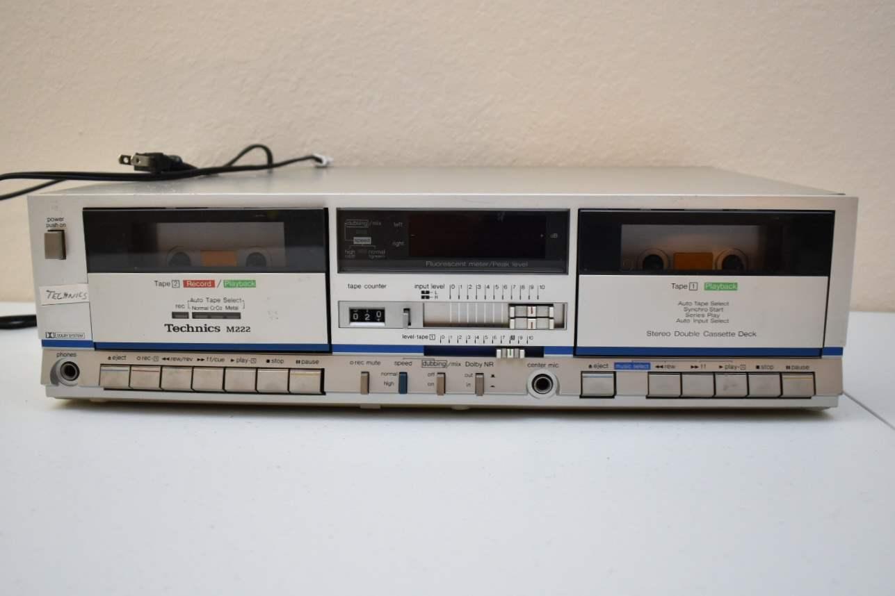 Technics M222 Tape Deck