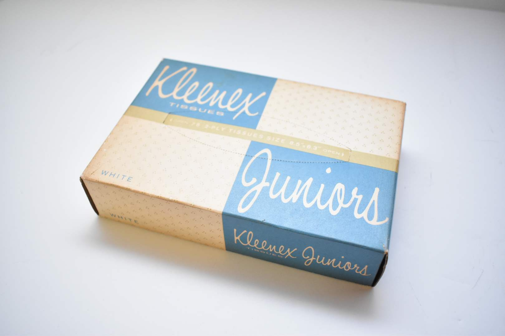 *Sealed* Kleenex Tissue Box from 1938