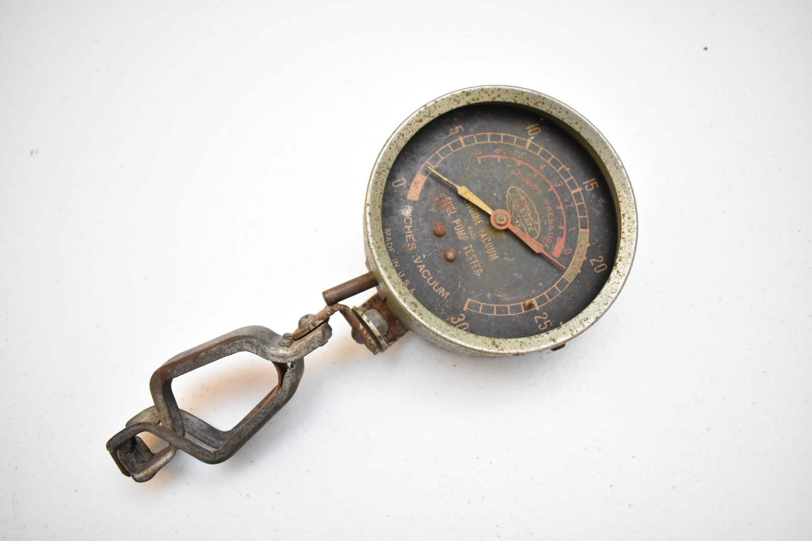 Very Old Pressure Gauge