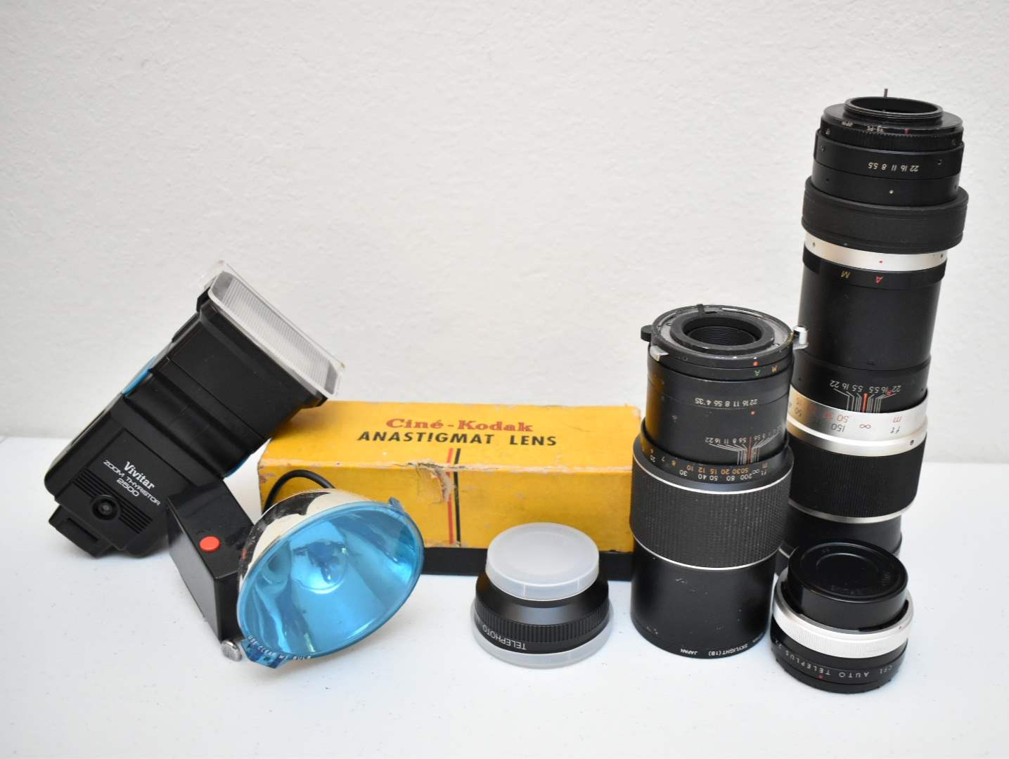 Vintage Lenses and Flashes