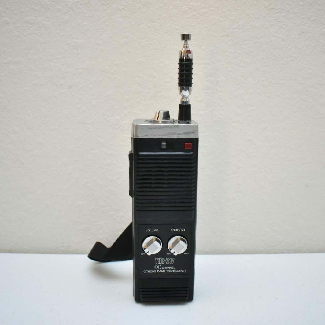 Vintage Realistic TRC-217 CB 40-Channel Citizens Band Receiver (Walkie Talkie)