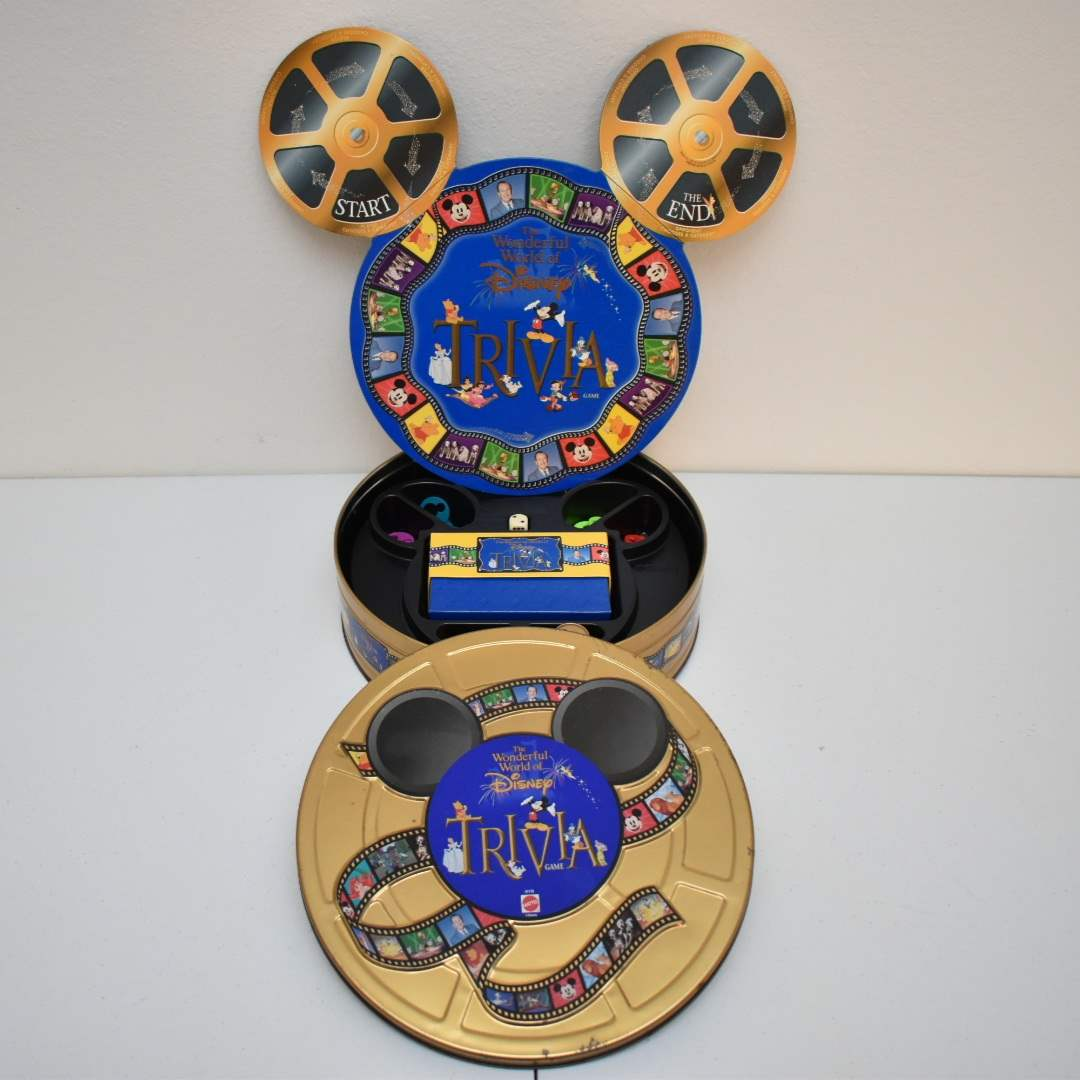 Wonderful World of Disney Trivia Game