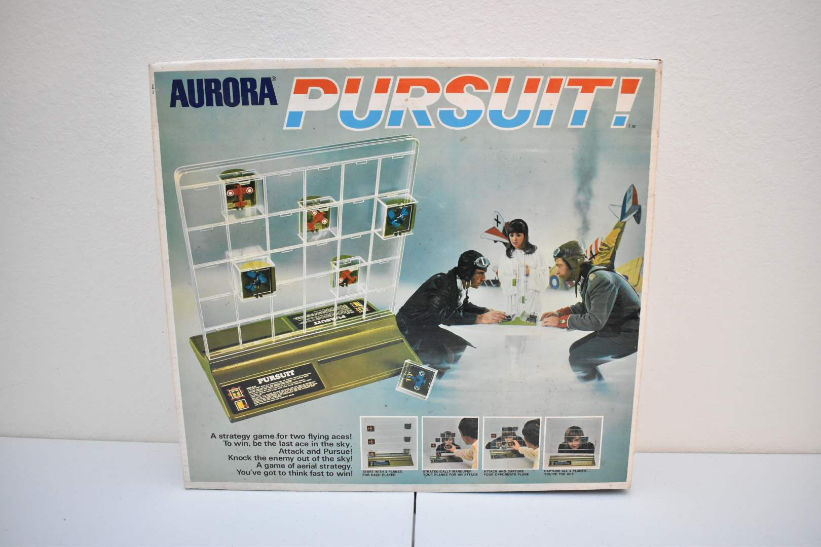Auora Pursuit! Game from 1973