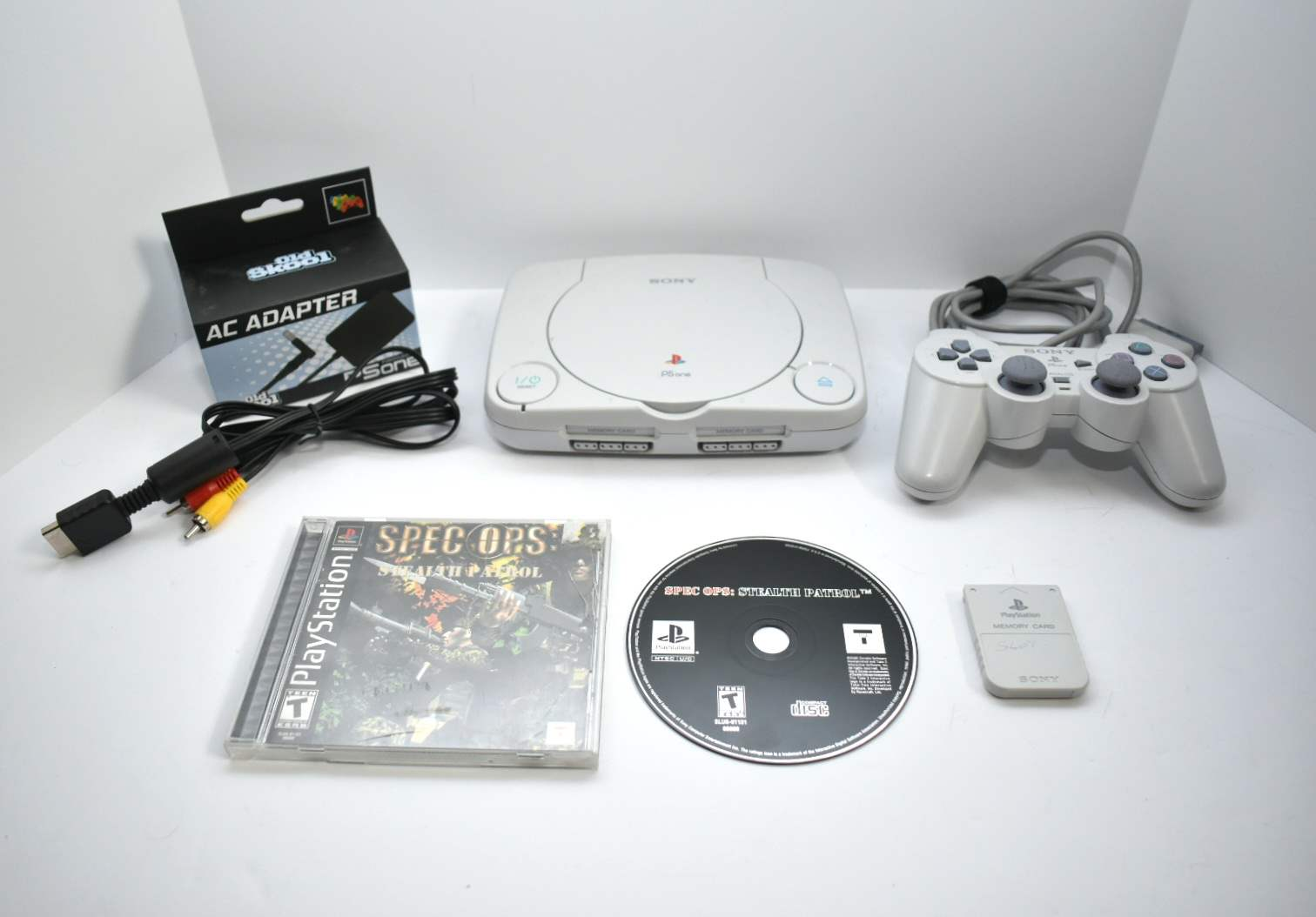 PlayStation 1 Slim Bundle with Spec Ops