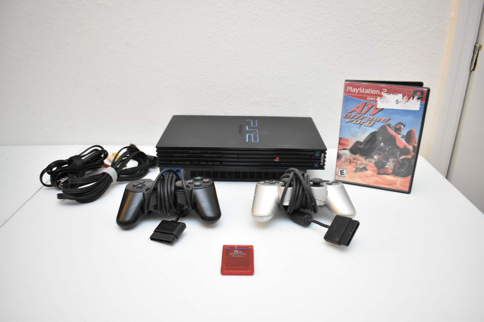 PlayStation 2 Bundle with ATV Offroad Fury 2