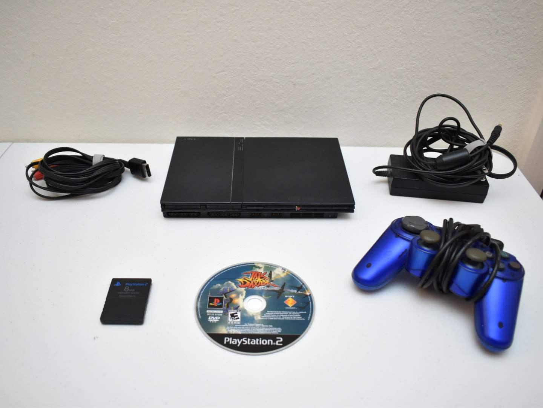 PlayStation 2 Slim Bundle (Black) with Jak and Daxter