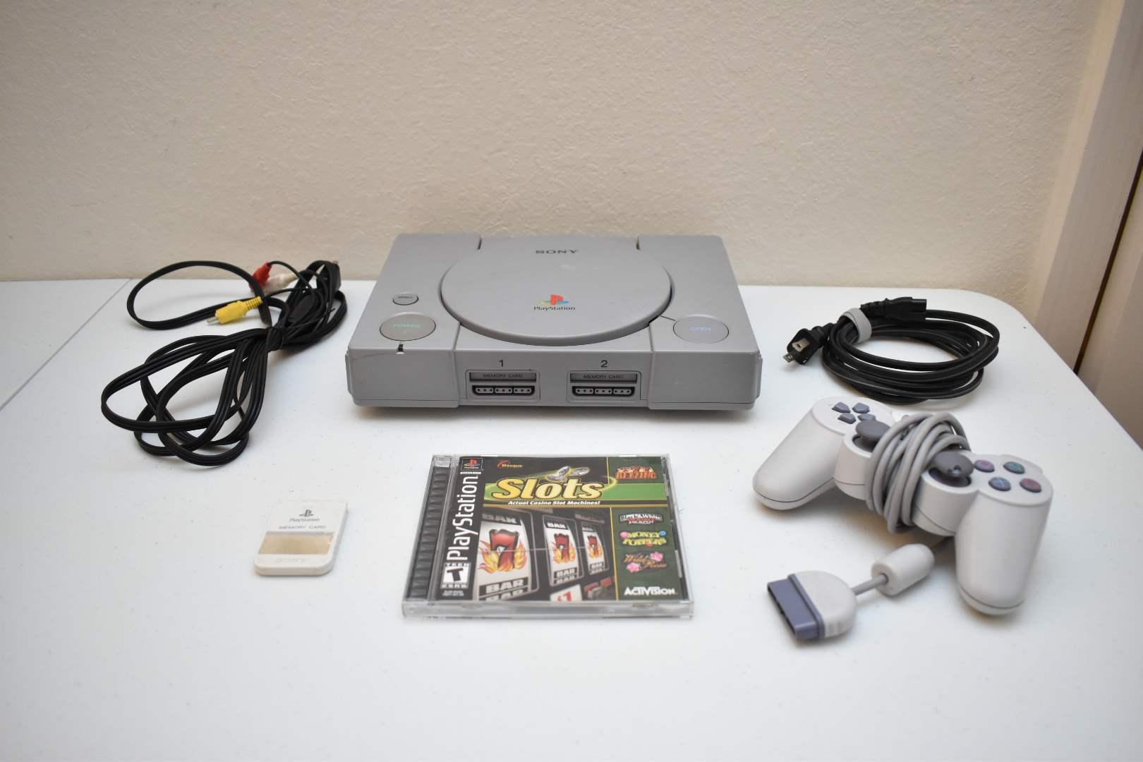 Original PlayStation 1 Bundle with Slots