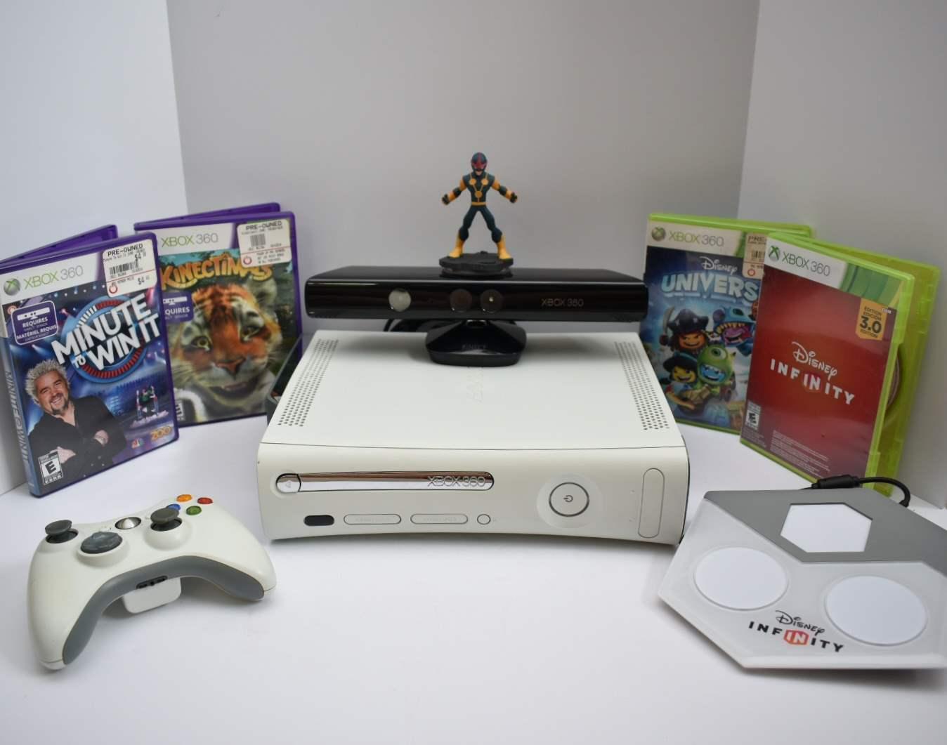 Xbox 360 Bundle with Kinect and Disney Infinity