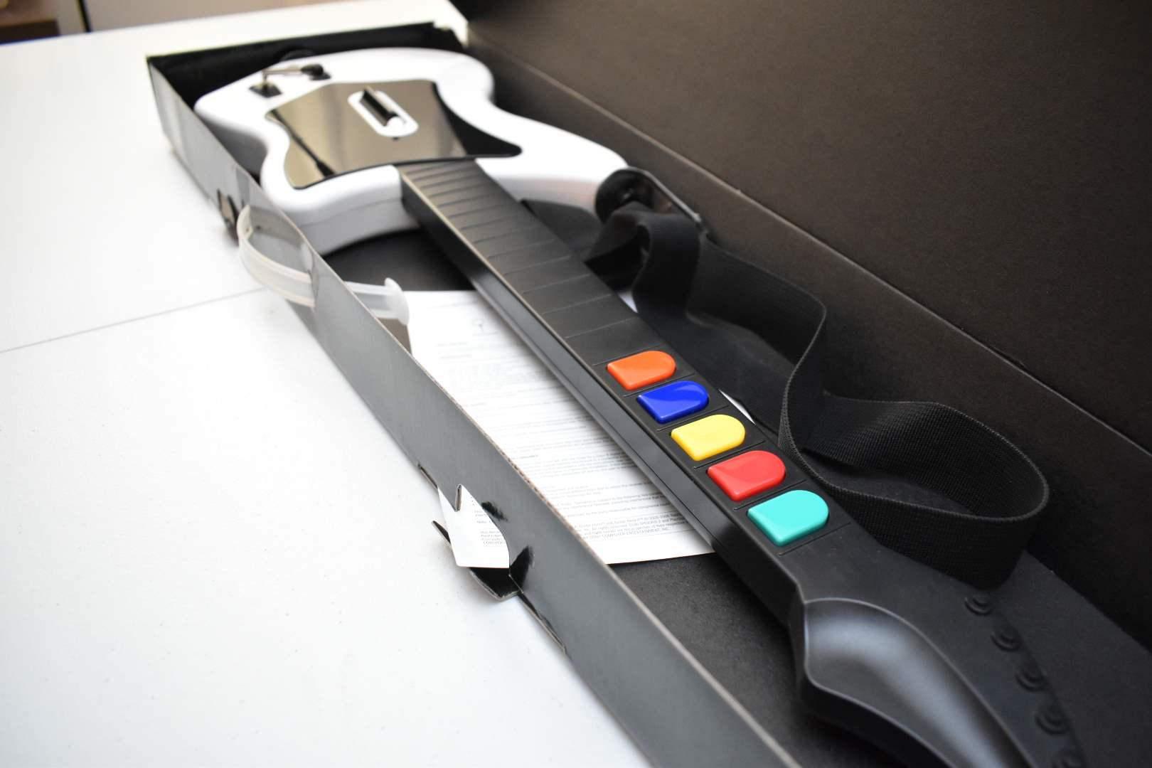 Guitar Hero Guitar with Box