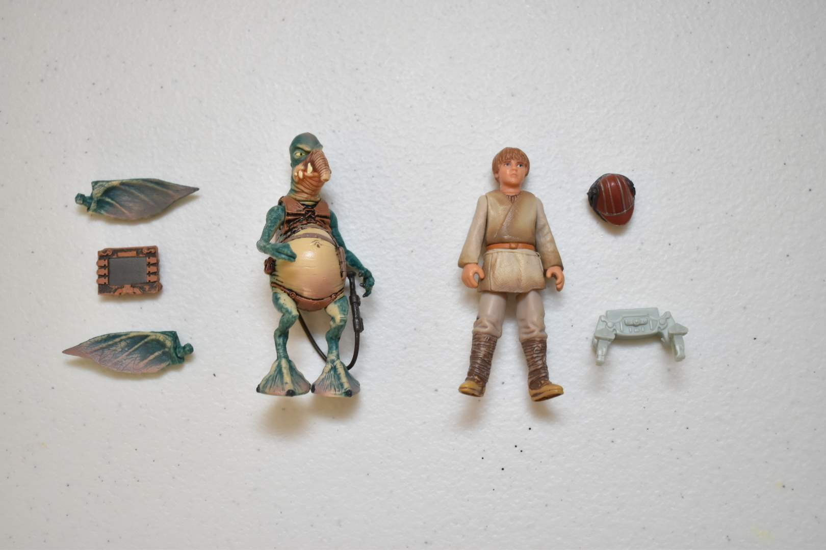 Vintage STAR WARS Young Anakin Skywalker and Watto