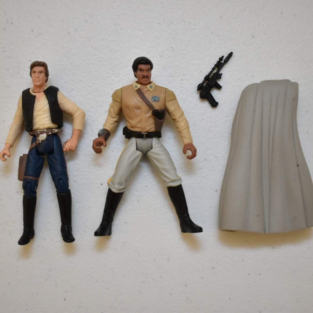 Vintage STAR WARS Han Solo & Lando