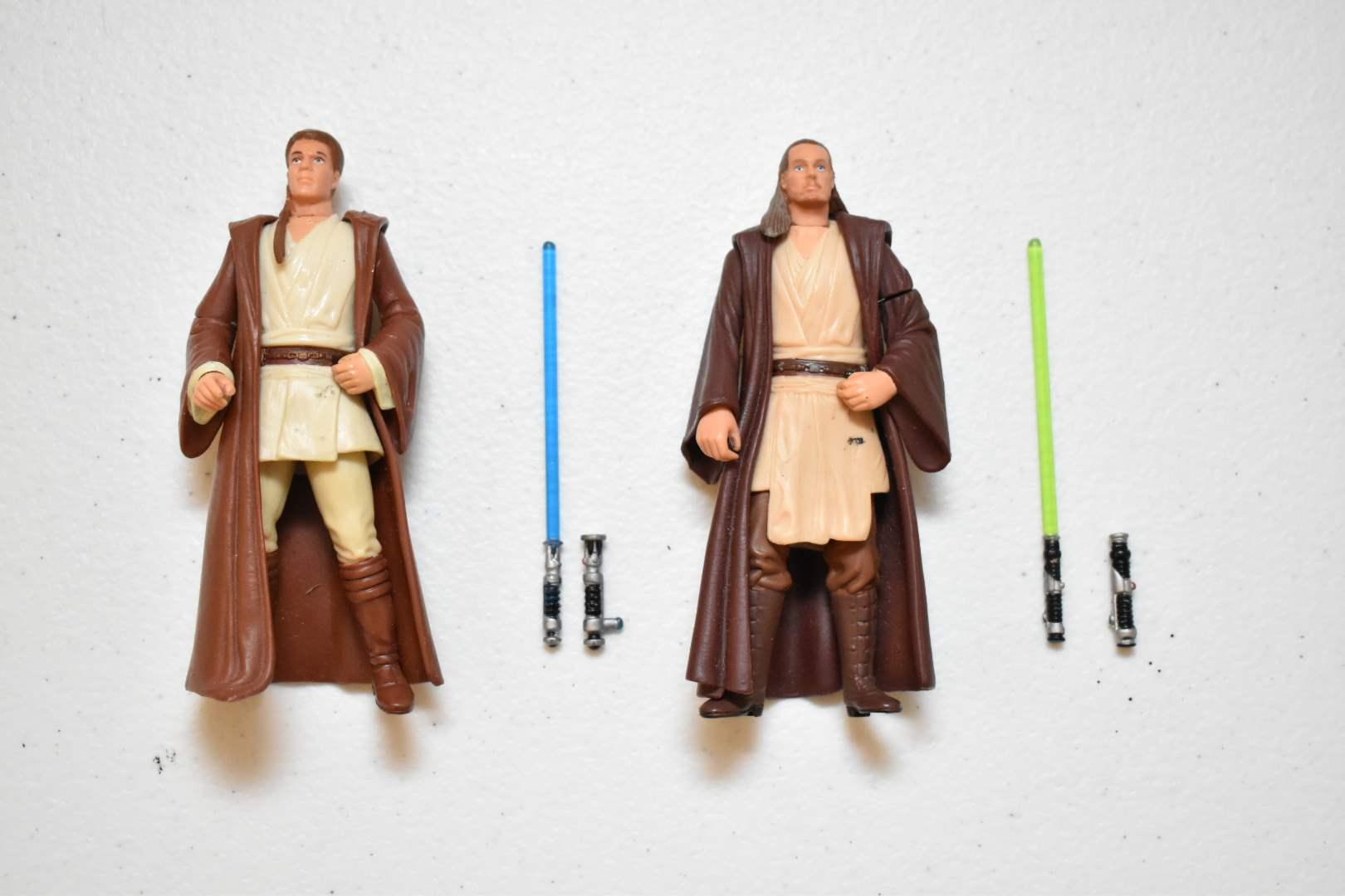 Vintage STAR WARS Obi-Wan & Qui-Gon