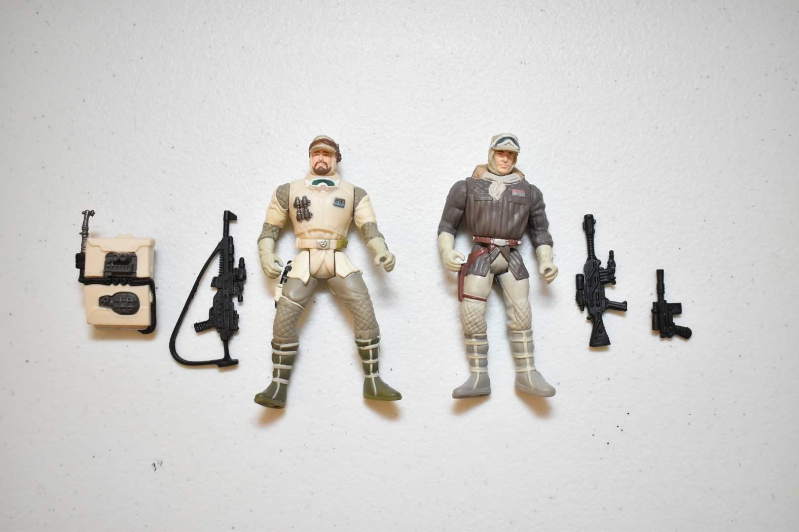 Vintage STAR WARS Hoth Troops