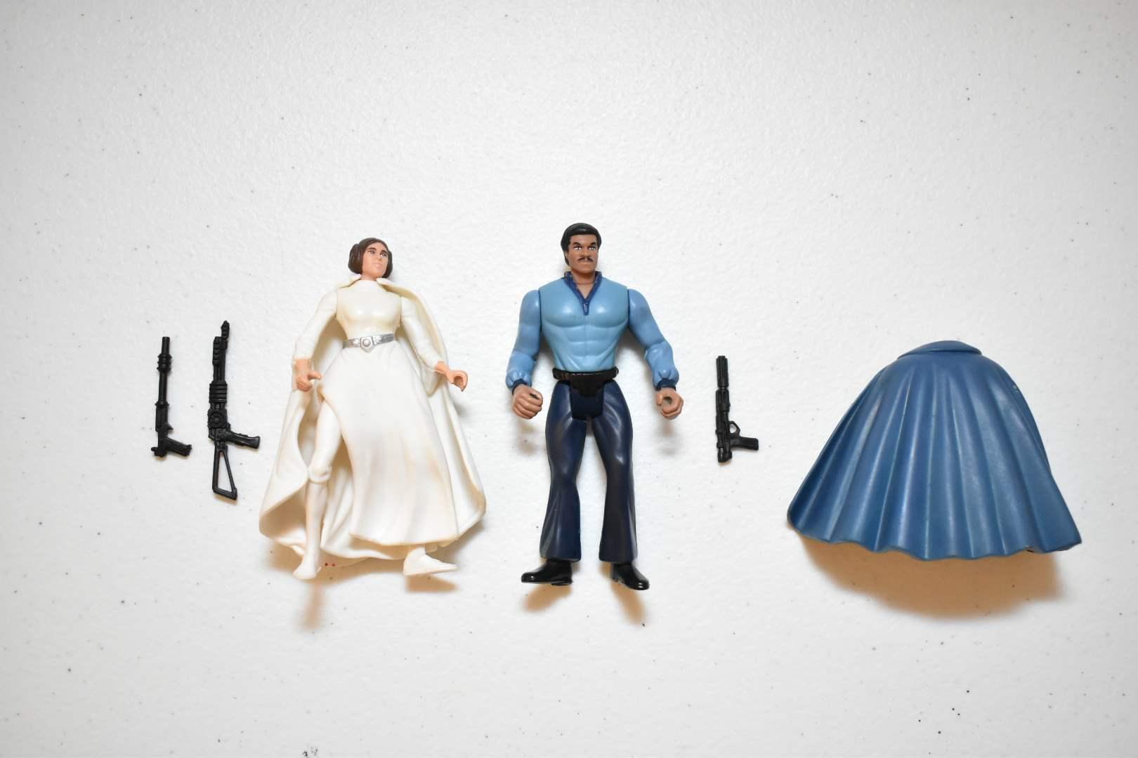Vintage STAR WARS Princess Leia & Lando