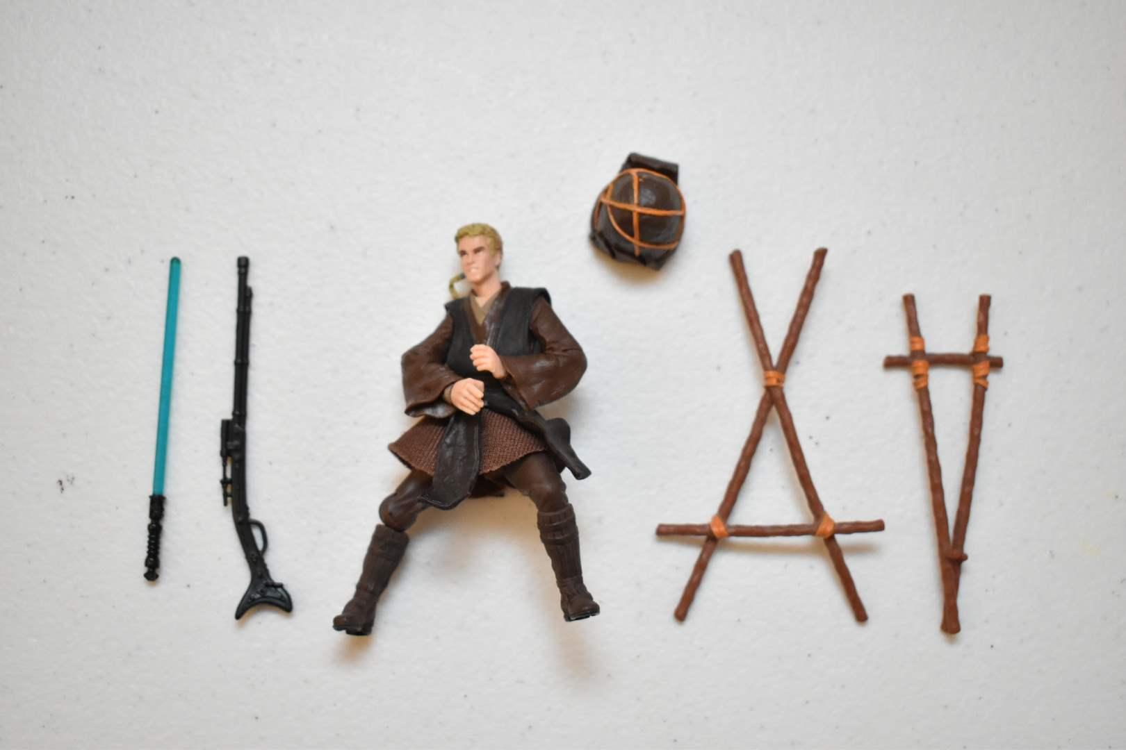 Vintage STAR WARS Anakin Skywalker Tusken Raider Camp Assault