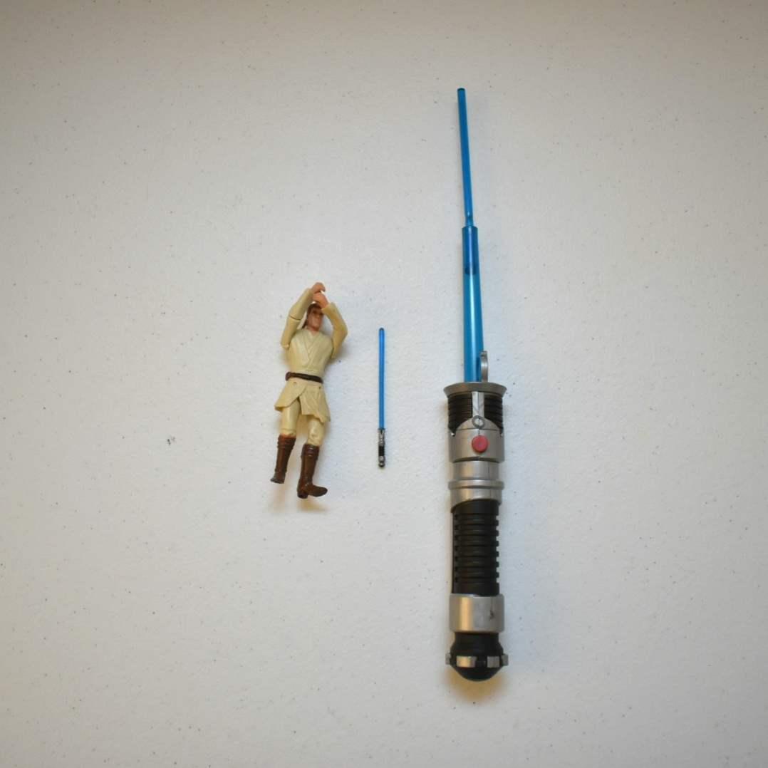 Vintage STAR WARS Obi-Wan with Lightsaber