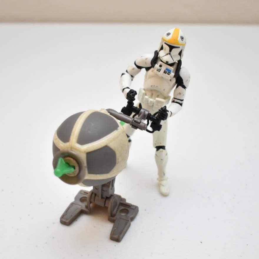 Vintage STAR WARS Storm Trooper with Missile-fire Action