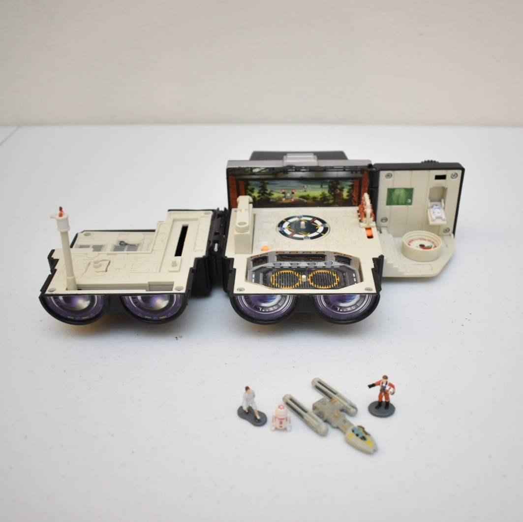 Vintage STAR WARS Binocular Pilot Micromachine Set