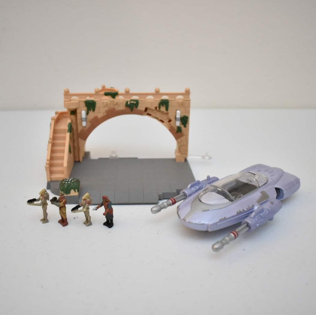 Vintage STAR WARS Assault on Theed Micromachine Set