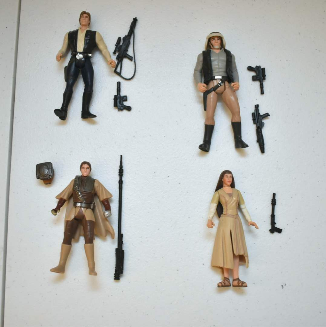 Vintage STAR WARS Rebel Troop Figures