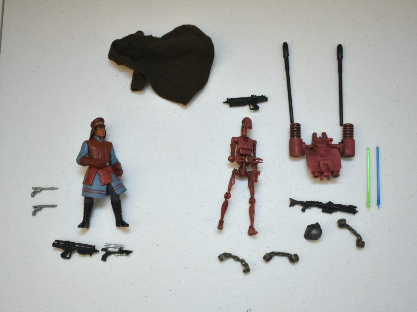 Vintage STAR WARS Naboo Guard & Droid